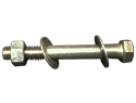 3/8&#34 X 1&#34  CARRIAGE BOLT 18-8 SS